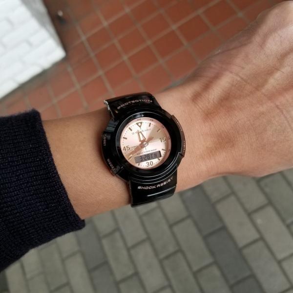 g-shock mini 腕時計 GMN-500-1B3JR ジーショック ミニ Gショック G-ショック カシオ CASIO ブラック×ピンクゴールド garakuta-ga 07