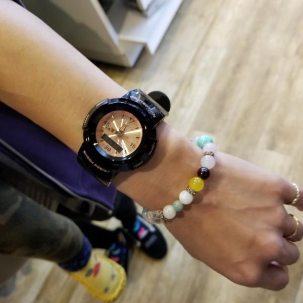 g-shock mini 腕時計 GMN-500-1B3JR ジーショック ミニ Gショック G-ショック カシオ CASIO ブラック×ピンクゴールド garakuta-ga 09