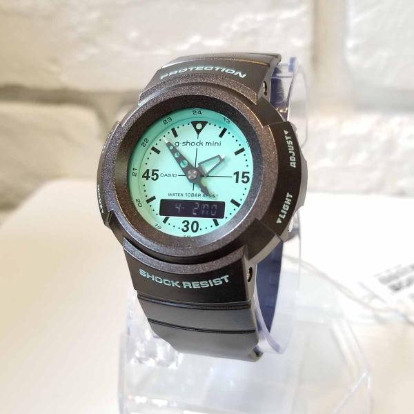 g-shock mini 腕時計 GMN-500-5BJR  ジーショック ミニ Gショック G-ショック カシオ CASIO ブラウン/ミント|garakuta-ga