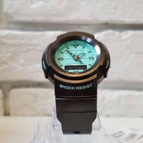 g-shock mini 腕時計 GMN-500-5BJR  ジーショック ミニ Gショック G-ショック カシオ CASIO ブラウン/ミント|garakuta-ga|02