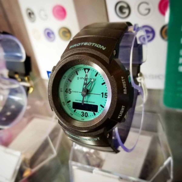 g-shock mini 腕時計 GMN-500-5BJR  ジーショック ミニ Gショック G-ショック カシオ CASIO ブラウン/ミント|garakuta-ga|06