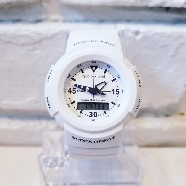 g-shock mini 腕時計 GMN-500-7BJR  ジーショック ミニ Gショック G-ショック カシオ CASIO ホワイト|garakuta-ga|02