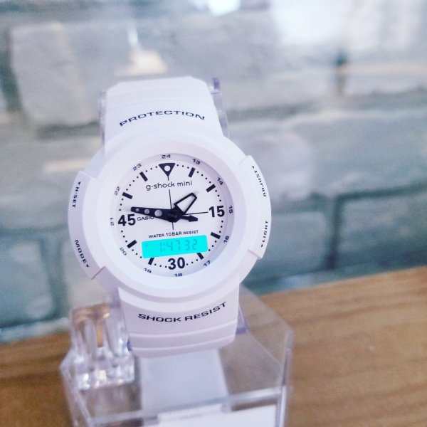 g-shock mini 腕時計 GMN-500-7BJR  ジーショック ミニ Gショック G-ショック カシオ CASIO ホワイト|garakuta-ga|03