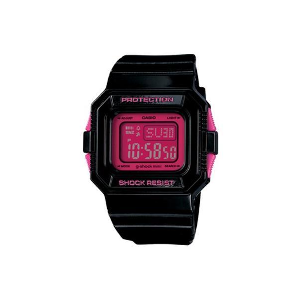 g-shock mini 腕時計 GMN-550-1BJR ブラック×ピンク カシオ ジーショックミニ Gショック G-ショック CASIO BLACK×PINK|garakuta-ga|02