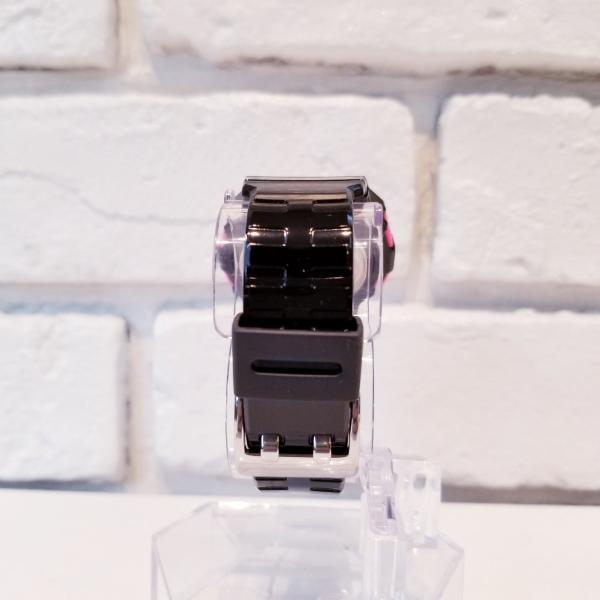 g-shock mini 腕時計 GMN-550-1BJR ブラック×ピンク カシオ ジーショックミニ Gショック G-ショック CASIO BLACK×PINK|garakuta-ga|04