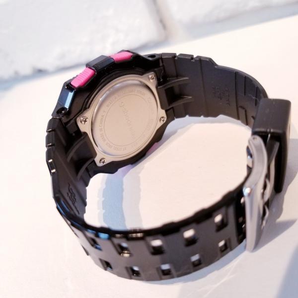 g-shock mini 腕時計 GMN-550-1BJR ブラック×ピンク カシオ ジーショックミニ Gショック G-ショック CASIO BLACK×PINK|garakuta-ga|05