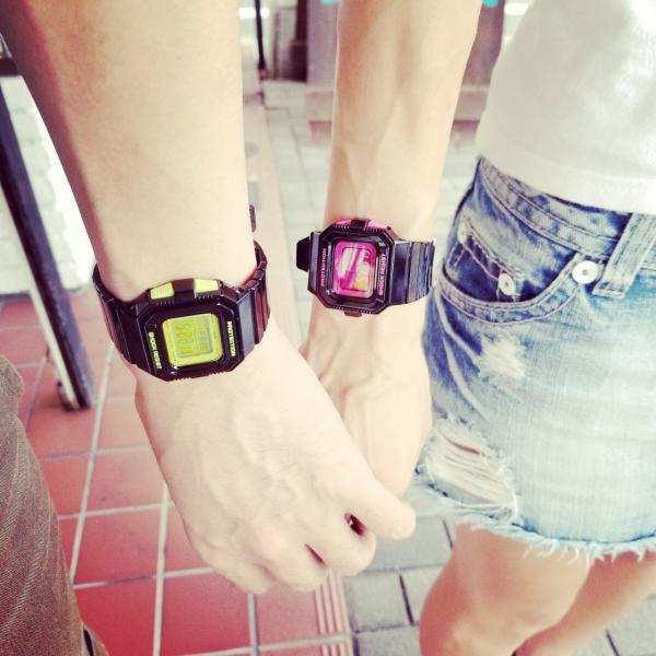 g-shock mini 腕時計 GMN-550-1BJR ブラック×ピンク カシオ ジーショックミニ Gショック G-ショック CASIO BLACK×PINK|garakuta-ga|07