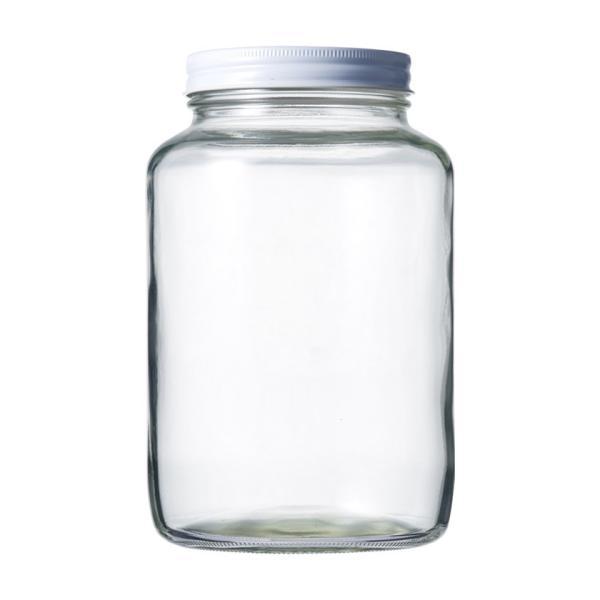 ガラス瓶 保存容器 H2000(sc86白)|garasubin