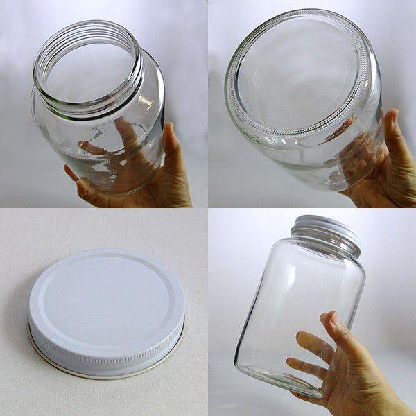 ガラス瓶 保存容器 H2000(sc86白)|garasubin|03