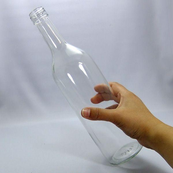 ガラス瓶 ワイン瓶 ワイン720 PPL 透明 720ml -5本セット-|garasubin|02