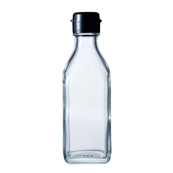 ガラス瓶 ドレッシング・タレ瓶 調味200角-HC-F 200ml|garasubin