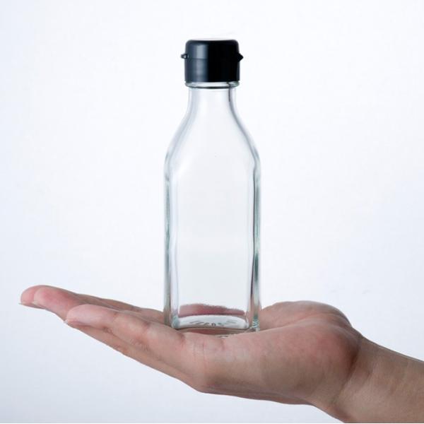 ガラス瓶 ドレッシング・タレ瓶 調味200角-HC-F 200ml|garasubin|02