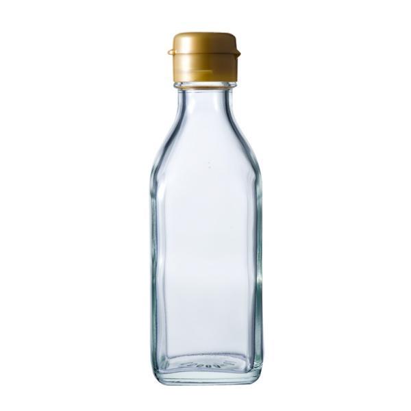ガラス瓶 ドレッシング・タレ瓶 調味200角-HC-F 200ml|garasubin|04