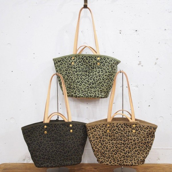 【THE SUPERIOR LABOR for woman】leopard market bag S
