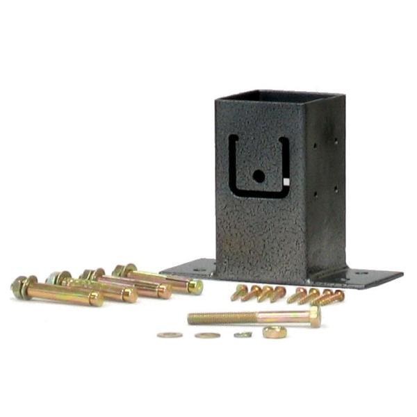 ラティス用柱固定金具 ベースプレート TKP-02 /梱包サイズ小|garden|02