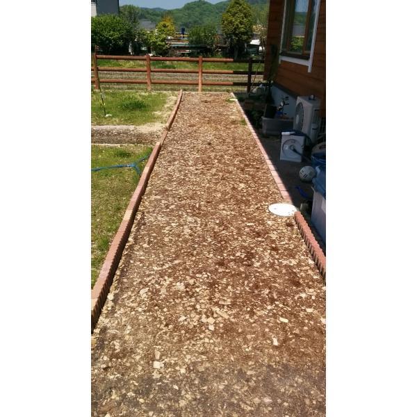 兵庫県産スギ・ヒノキ ウッドチップ・バーク&チップ 50L×20袋セット:1000L:舗装厚5cm時・20平米分|gardenas-kobe|03