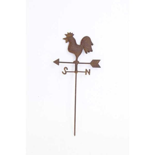 花壇 ガーデンピック おしゃれ フラワーピック ガーデニング 雑貨 ガーデニング雑貨 ピック アンティーク 風見鶏 ブリキ