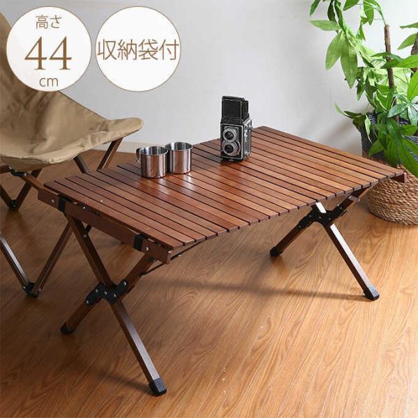 折りたたみ ウッドテーブル アウトドア フォールディングテーブル ハンス 幅90cm×奥行60cm  木製 テーブル 屋外 ベランダ おしゃれ