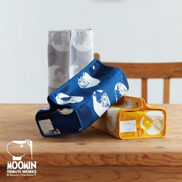 ムーミン ティッシュケース ポルカドットのミイ メール便 送料無料 かわいい おしゃれ 子供 便利 北欧 フィンランド moomin QUARTER REPORT|gardiner
