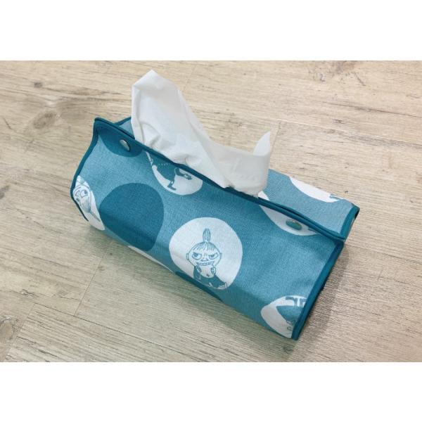 ムーミン ティッシュケース ポルカドットのミイ メール便 送料無料 かわいい おしゃれ 子供 便利 北欧 フィンランド moomin QUARTER REPORT|gardiner|08