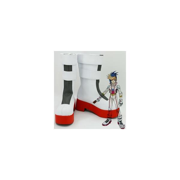コスプレ靴  遊戯王   ARC-V 游吾 コスプレブーツ オーダーサイズ製作可能m2400