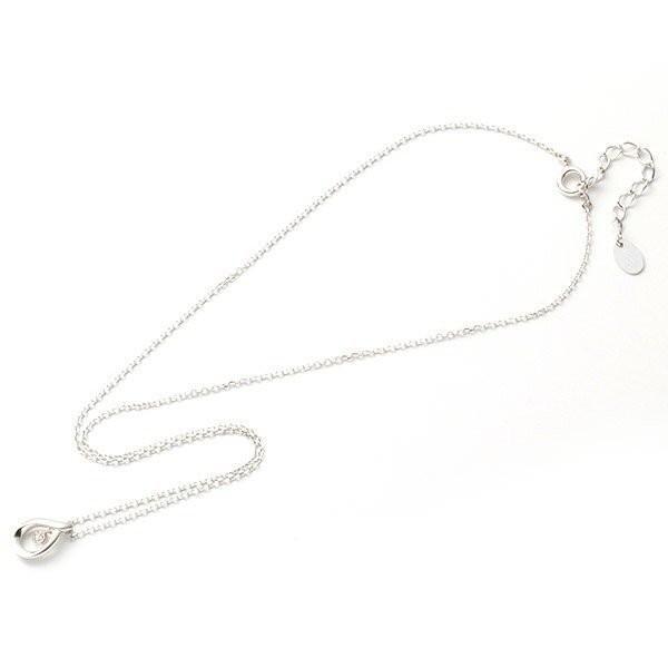 4℃ ヨンドシー ネックレス レディース ダイヤモンド シルバー しずく 揺れる 4C アクセサリー ジュエリー ペンダント 可愛い シンプル garlandstore 04