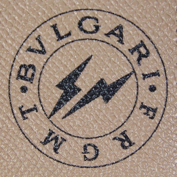 ブルガリ BVLGARI 財布 メンズ 二つ折り財布 藤原ヒロシ コラボ フラグメント シルバーグレー 288571 garlandstore 04