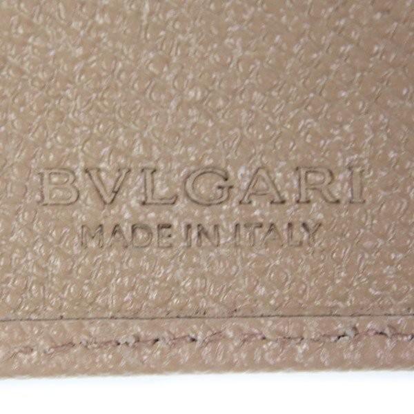 ブルガリ BVLGARI 財布 メンズ 二つ折り財布 藤原ヒロシ コラボ フラグメント シルバーグレー 288571 garlandstore 09