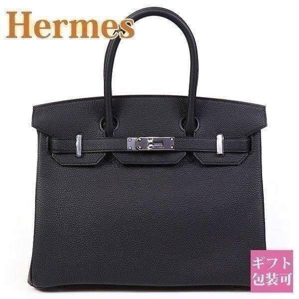 エルメス バッグ バーキン ハンドバッグ 30 D刻印 2020 黒 ブラック HERMES バーキン30 Birkin 本物|garlandstore