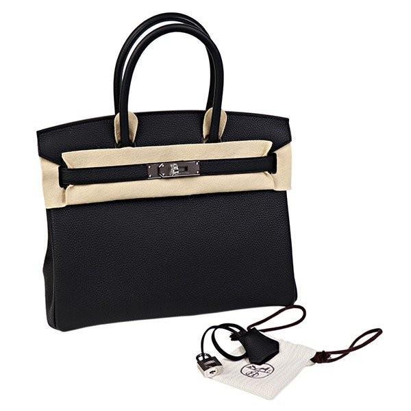 エルメス バッグ バーキン ハンドバッグ 30 D刻印 2020 黒 ブラック HERMES バーキン30 Birkin 本物|garlandstore|08