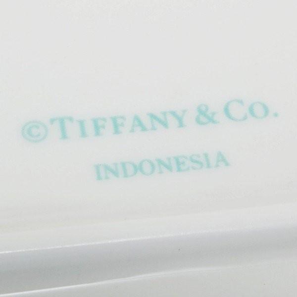 名入れ ティファニー TIFFANY&Co ブルー ボウ デザート プレート 食器 洋食器 皿 ブルーボックス 陶磁器 陶器 2枚セット ペア プレゼント 刻印|garlandstore|05