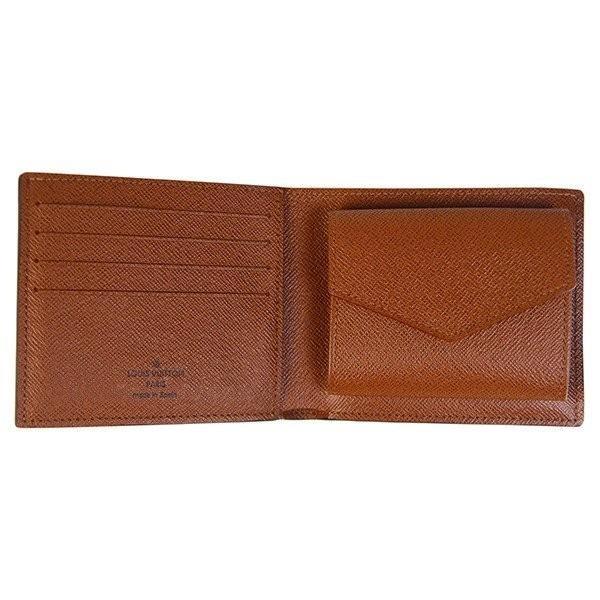 timeless design 07b9f 8eeba 名入れ ルイヴィトン 財布 メンズ レディース 二つ折り財布 ...