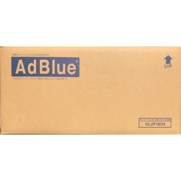 アドブルー 日本液炭 尿素SCRシステム専用高品位尿水素 AdBlue ディーゼル車排ガス規制対応 ソフト容器テンツーワンシリーズ 10Lx2個セット