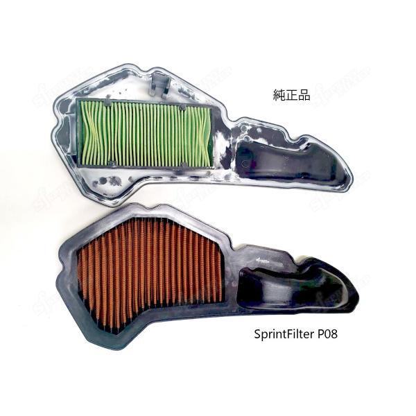 スプリントフィルター PM178S  PCX125/150, ADV150 乾式エアフィルター|garudaonlinestore|04