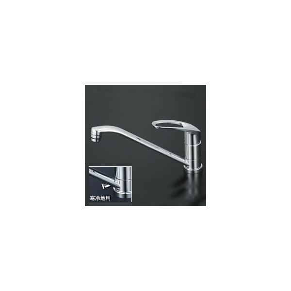 【3年保証付】*KVK*KM5011T/KM5011ZT 水栓金具 流し台用シングルレバー式混合栓