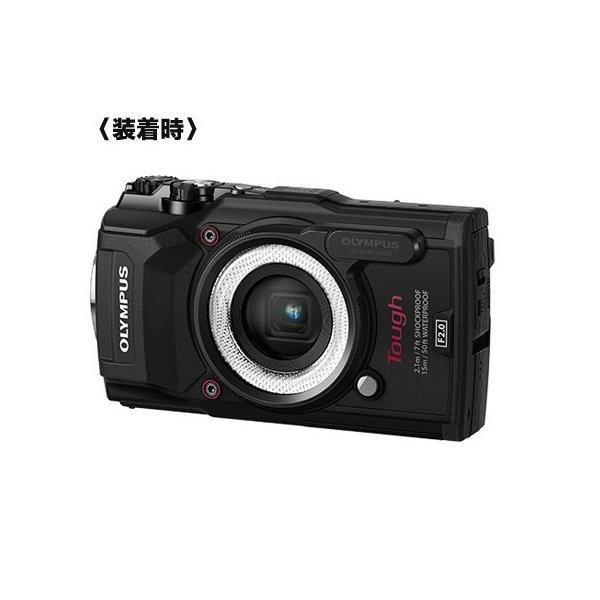 デジタルカメラ TG-5 工一郎用 1cm接写用LEDライトガイド LG-1 オリンパス