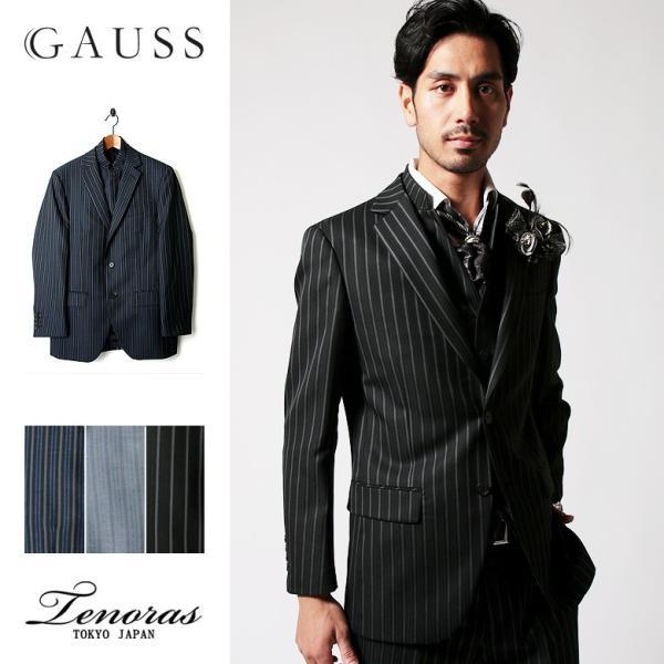Tenoras春夏秋 3シーズン 対応 スリーピース スーツ セットアップ シングル メンズファッション 結婚式 二次会 パーティー ブランド TENORAS メンズティノラス|gauss