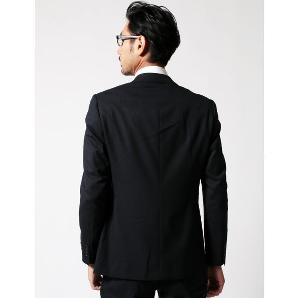 BIGLIDUE シャドー ヘリンボーン スーツ セットアップ シングル メンズファッション 結婚式 二次会 パーティー ブランド|gauss|04