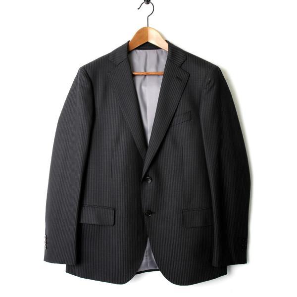 メンズ スーツ セットアップ シングルスーツ 結婚式 二次会 BIGLIDUE ピンストライプ 2B パーティー ブランド お祝い|gauss|02