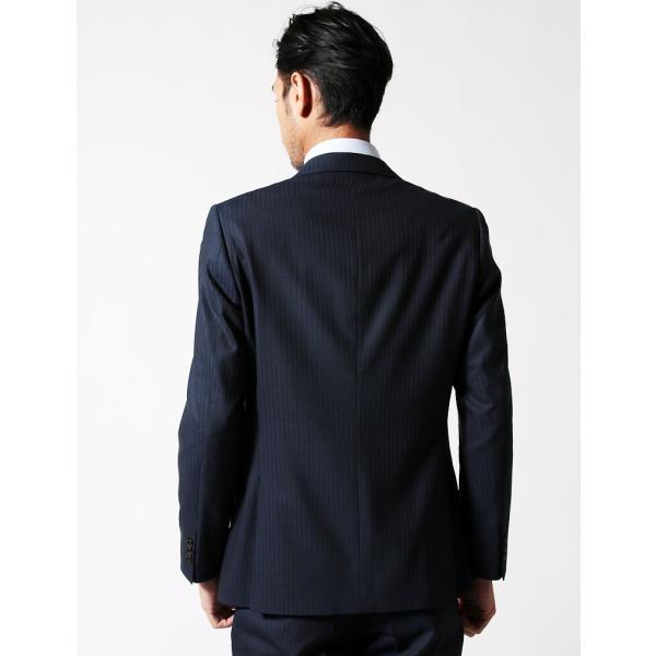BIGLIDUE ストライプ シングル スーツ セットアップ メンズファッション 結婚式 二次会 パーティー ブランド|gauss|04