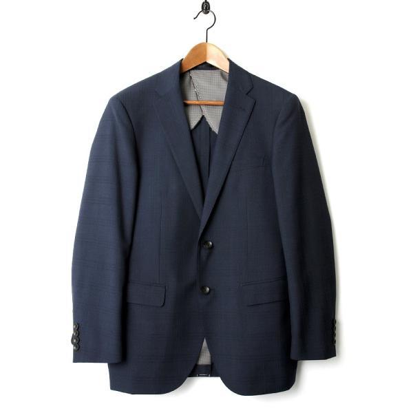 メンズ スーツ セットアップ シングルスーツ 結婚式 二次会 BIGLIDUE シャドー チェック パーティー ブランド セレブ|gauss|02