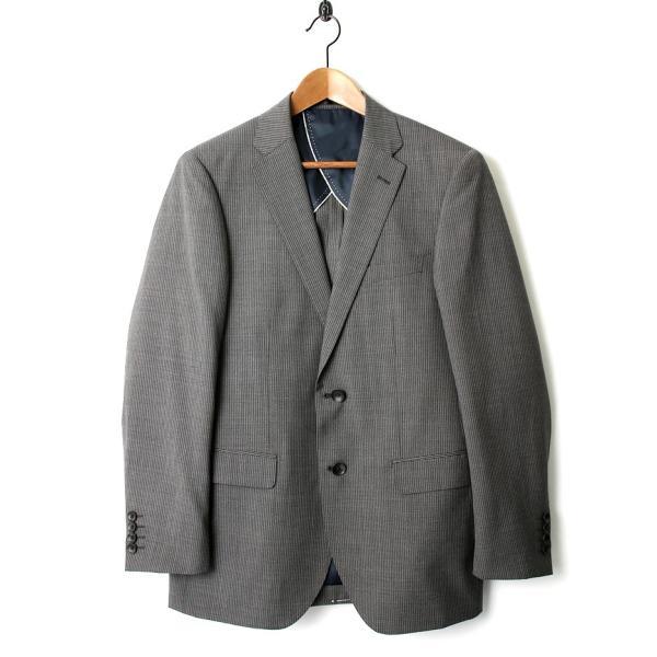 メンズ スーツ セットアップ シングルスーツ 結婚式 二次会 BIGLIDUE ストライプ 柄 2B パーティー ブランド お洒落 gauss 02