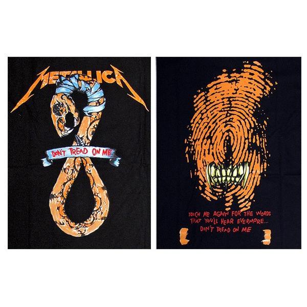 【メール便送料無料】METALLICA メタリカ  BA-0003-BK Don't Tread on Me TEE バンドTシャツ gb-int 04