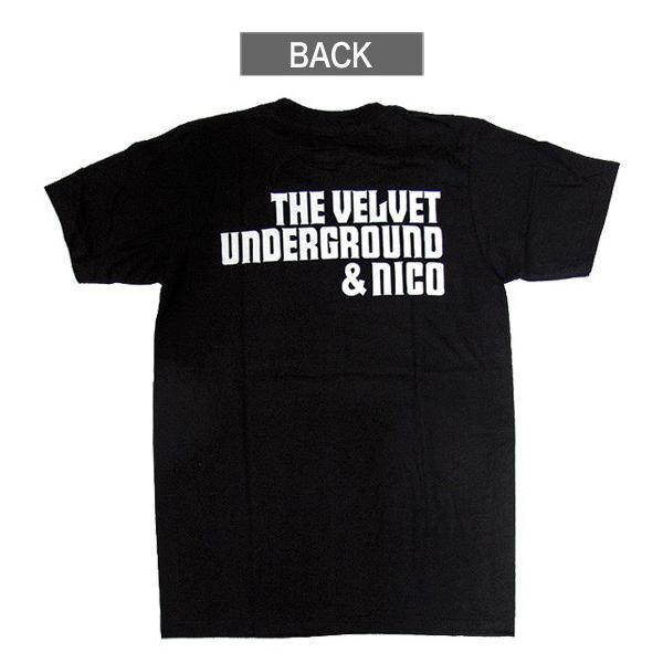 【メール便送料無料】THE VELVET UNDERGROUND ヴェルヴェット・アンダーグラウンド BA-0010-BK THE VELVET UNDERGROUND & NICO TEE バンド|gb-int|03