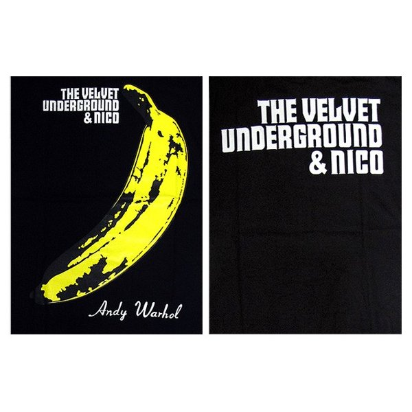 【メール便送料無料】THE VELVET UNDERGROUND ヴェルヴェット・アンダーグラウンド BA-0010-BK THE VELVET UNDERGROUND & NICO TEE バンド|gb-int|04