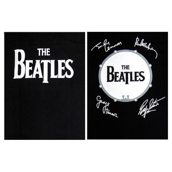 【メール便送料無料】THE BEATLES ビートルズ バンド BG-0001-BK DROP-T LOGO TEE ドロップティー ロゴ バンド 半袖Tシャツ|gb-int|04