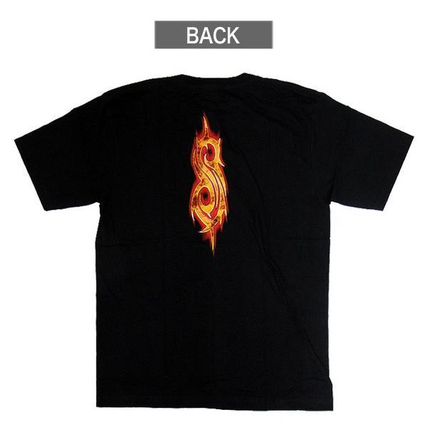 【メール便送料無料】Slipknot スリップノット バンドTシャツ 半袖 BG-0010-BK Slipknot MEMBER TEE メンバー 半袖Tシャツ gb-int 03