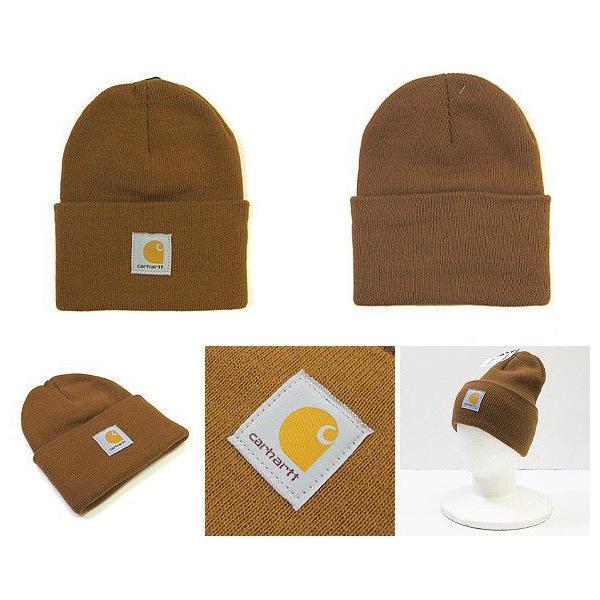 カーハート ニットキャップ ニット帽 Carhartt A18 (メール便対応) gb-int 02