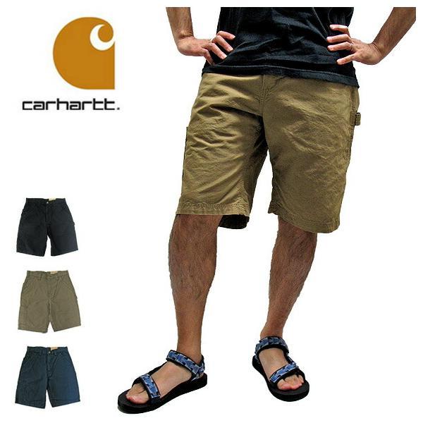 Carhartt カーハート カーゴパンツ B147 CANVAS WORK SHORT PANTS キャンバス ワーク ショートパンツ(メール便不可)|gb-int