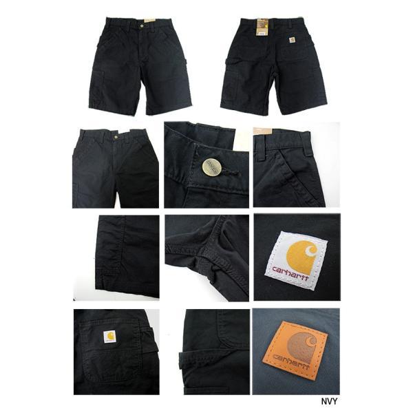 Carhartt カーハート カーゴパンツ B147 CANVAS WORK SHORT PANTS キャンバス ワーク ショートパンツ(メール便不可)|gb-int|02